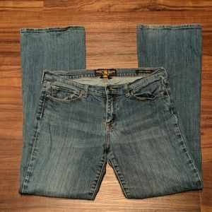 Lucky Brand Sofia Boot Jeans Size 10